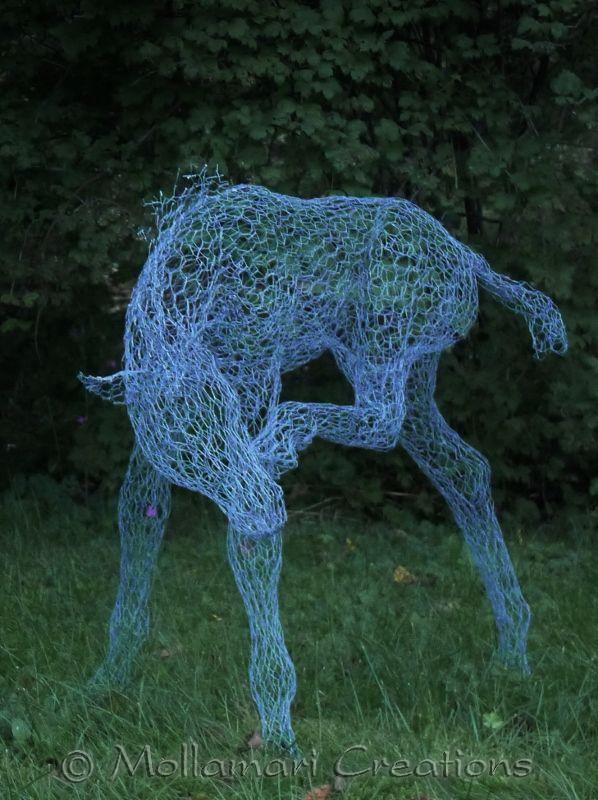 Mollamari Creations Wire Horses